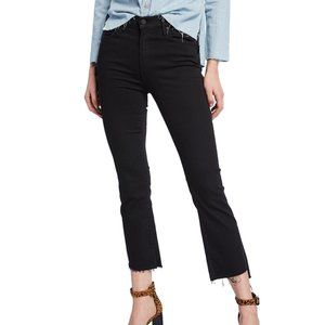 MOTHER Insider Crop Step Fray Not Guilty Jeans 25